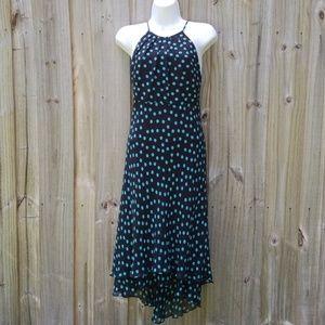 Jones Wear Silk Polka Dot Dress